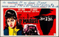 Movie Posters:Foreign, The Return of Dr. Mabuse & Other Lot (Elan, 1963). Folded,...