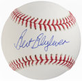 Autographs:Baseballs, 2015-19 Bert Blyleven Single Signed Baseball....