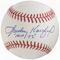 "Autographs:Baseballs, 2000-14 Sandy Koufax ""'HOF 72'"" Single Signed Baseball...."