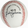 Autographs:Baseballs, 1987-88 Judy Johnson Single Signed Baseball....