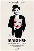 "Movie Posters:Documentary, Marlene (Alive, 1984). Rolled, Very Fine. Autographed One Sheet (27.25"" X 40""). Michael Vollbracht Artwork. Documentary.. ..."