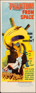 Movie Posters:Science Fiction, Phantom from Space (United Artists, 1953). Folded, Very Fi...