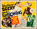 Movie Posters:Comedy, Rationing (MGM, 1944). Rolled, Fine+. Half Sheet (...