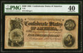 Confederate Notes:1864 Issues, T64 $500 1864 PF-1 Cr. 489A PMG Extremely Fine 40.. ...