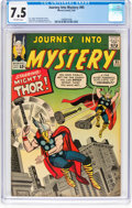 Silver Age (1956-1969):Superhero, Journey Into Mystery #95 (Marvel, 1963) CGC VF- 7.5 Off-wh...