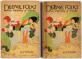 Books:General, Deenie Folks and Friends of Theirs Books Group of 2 (P.F.Volland Co., 1925).... (Total: 2 Items)
