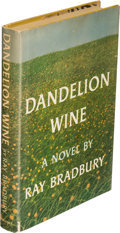 Books:First Editions, Ray Bradbury. Dandelion Wine. Garden City: 1957. Firstedition. Inscribed....