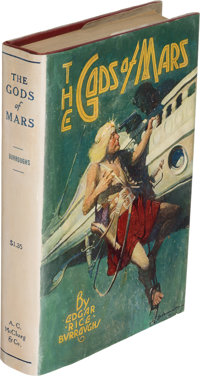 Edgar Rice Burroughs. The Gods of Mars. Chicago: A. C. McClurg & Co., 1918. First edition