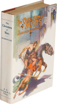 Edgar Rice Burroughs. The Chessmen of Mars. Chicago: 1922. First edition