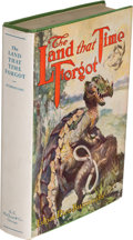 Books:First Editions, Edgar Rice Burroughs. The Land That Time Forgot. Chicago: A. C. McClurg & Co., 1924. First edition. ...