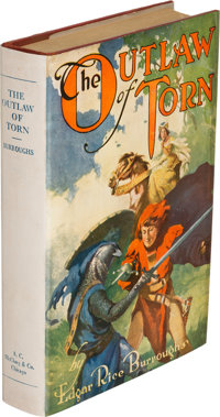 Edgar Rice Burroughs. The Outlaw of Torn. Chicago: 1927. First edition