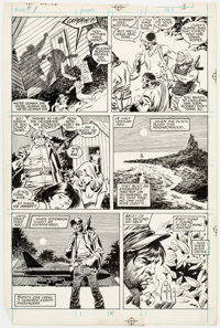 John Buscema and Al Williamson Wolverine #1 Story Page 3 Original Art (Marvel Comics, 1988)