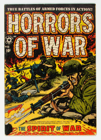 Horrors #11 (Star Publications, 1953) Condition: VG/FN