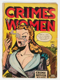 Golden Age (1938-1955):Crime, Crimes by Women #4 (Fox Features Syndicate, 1948) Condition: Apparent GD....