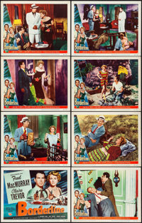 "Borderline (Universal International, 1950). Overall: Very Fine. Lobby Card Set of 8 (11"" X 14""). Crime. From t..."