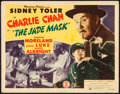 "Movie Posters:Mystery, The Jade Mask (Monogram, 1944). Fine+. Title Lobby Card (11"" X 14""). Mystery. From the Collection of Frank Buxton, of whic..."
