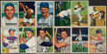 Baseball Cards:Lots, 1949-52 Bowman/Berk Ross Baseball Collection (64) With Stars & Hall of Famers. ...