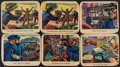 Non-Sport Cards:Lots, 1949 Bowman America Salutes the FBI Collection (21)....