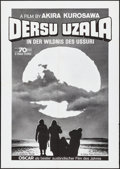 """Movie Posters:Foreign, Dersu Uzala (Mosfilm, 1976). Folded, Very Fine-. German A0 (33"""" X46""""). Foreign. From the Collection of Frank Buxton, of w..."""