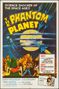 Movie Posters:Science Fiction, The Phantom Planet (Four Crown, 1962). Folded, Very Fine-....