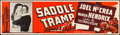 Movie Posters:Western, Saddle Tramp (Universal International, 1950). Rolled, Fine...