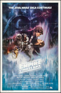 Movie Posters:Science Fiction, The Empire Strikes Back (20th Century Fox, 1980). Flat Fol...