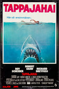 Movie Posters:Horror, Jaws (Universal, 1975). Folded, Fine/Very Fine. Fi...