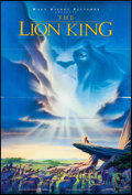 """Movie Posters:Animation, The Lion King (Buena Vista, 1994). Folded, Very Fine. One Sheet (27"""" X 40""""). DS, John Alvin Artwork. Animation.. ..."""