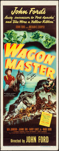 Movie Posters:Western, Wagon Master (RKO, 1950). Folded, Fine/Very Fine. ...