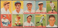 Baseball Cards:Lots, 1933 Goudey Baseball Card Collection (10) With HoFers.