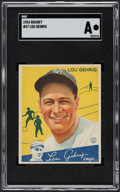 Baseball Cards:Singles (1930-1939), 1934 Goudey Lou Gehrig #37 SGC Authentic....