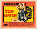 Movie Posters:Crime, Cop Hater (United Artists, 1958). Rolled, Very Fine.