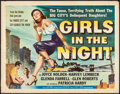Movie Posters:Crime, Girls in the Night (Universal International, 1953). Rolled...