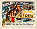 Movie Posters:Exploitation, High School Caesar (Filmgroup, 1960). Folded, Very Fine.
