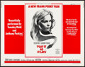 "Movie Posters:Drama, Play It As It Lays (Universal, 1972). Rolled, Very Fine. Half Sheet (22"" X 28""). Drama.. ..."