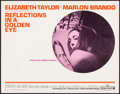 Movie Posters:Drama, Reflections in a Golden Eye (Warner Brothers, 1967). Rolle...
