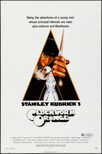 """A Clockwork Orange (Warner Brothers, 1971). Folded, Very Fine. One Sheet (27"""" X 41"""") R-Rated Style. Philip Cas..."""