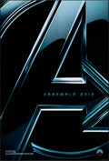 Movie Posters:Science Fiction, The Avengers (Walt Disney Studios, 2012). Rolled, Very Fin...