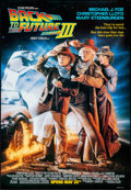 """Movie Posters:Science Fiction, Back to the Future Part III (Universal, 1990). Rolled, Very Fine+. One Sheet (26.75"""" X 39.75"""") DS Advance. Drew Struzan Artw..."""