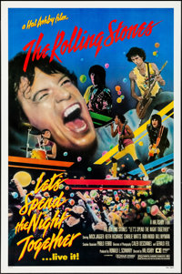 """Let's Spend the Night Together (Embassy, 1983). Rolled, Very Fine+. One Sheet (27.25"""" X 41""""). Rock and Roll..."""