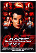 """Tomorrow Never Dies (MGM, 1997). Rolled, Very Fine-. Printer's Proof Bus Shelter (48"""" X 70"""") DS, Advance. Jame..."""