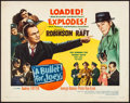 Movie Posters:Film Noir, A Bullet for Joey & Other Lot (United Artists, 1955). Roll...