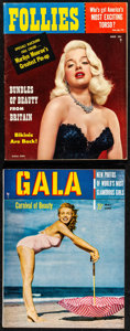 """Movie Posters:Sexploitation, Gala & Other Lot (Gala Magazine, 1950). Very Fine. Magazines (2) (Multiple Pages, 8"""" X 10.25""""). Sexploitation.. ... (Total: 2 Items)"""