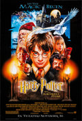 """Movie Posters:Fantasy, Harry Potter and the Sorcerer's Stone (Warner Brothers, 2001). Rolled, Very Fine-. One Sheet (27"""" X 40"""") SS Advance, Drew St..."""