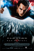 Movie Posters:Action, Man of Steel (Warner Brothers, 2013). Rolled, Very Fine.