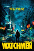 """Movie Posters:Action, Watchmen (Warner Brothers, 2009). Rolled, Very Fine. One Sheet (27"""" X 40"""") DS Advance. Action.. ..."""