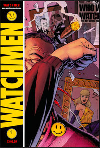 """Watchmen (Warner Brothers, 2007). Rolled, Very Fine-. Comic-Con Exclusive One Sheet (27"""" X 40"""") SS Advance, Da..."""