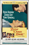 Movie Posters:Comedy, Lover Come Back (Universal International, 1962). Folded, V...
