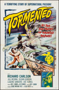 Movie Posters:Horror, Tormented (Allied Artists, 1960). Folded, Very Fine-.