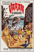 Movie Posters:Horror, Varan the Unbelievable (Crown International, 1961). Folded...